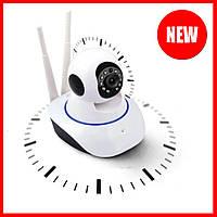 Беспроводная поворотная IP камера Q5 WIFI для домашнего видеонаблюдения с датчиком движения и ночным видением
