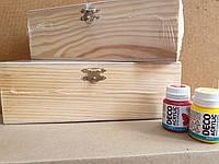 Шкатулка, деревянная, с замком, 21х7х7см, ROSA TALENT