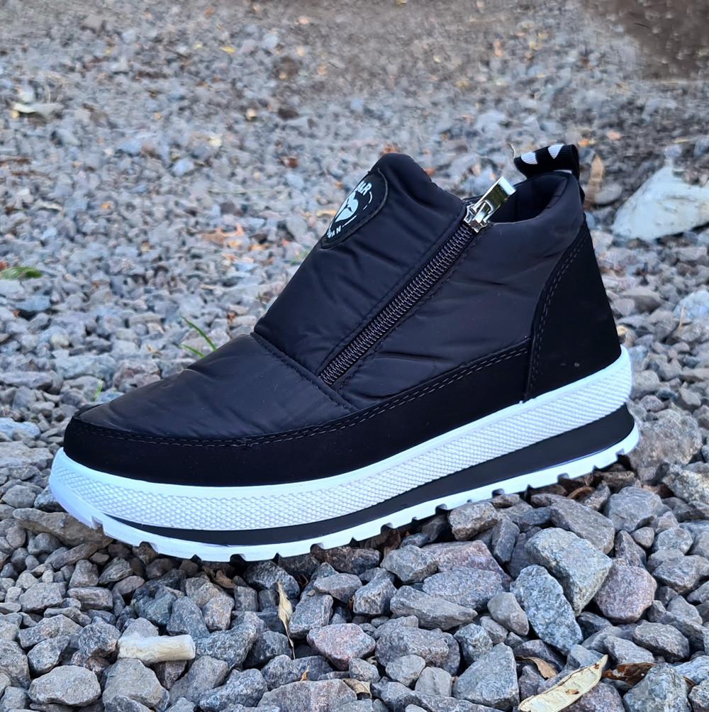 36 р. Жіночі черевики утеплені хутром кросівки (БТ-5б-2)