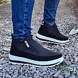 Женские ботинки утепленные на меху кроссовки (БТ-5б-2), фото 2