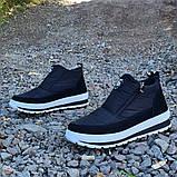 Женские ботинки утепленные на меху кроссовки (БТ-5б-2), фото 5
