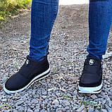 Женские ботинки утепленные на меху кроссовки (БТ-5б-2), фото 7