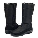 Жіночі зимові чоботи теплі і зручні (ПР-2002чн), фото 2