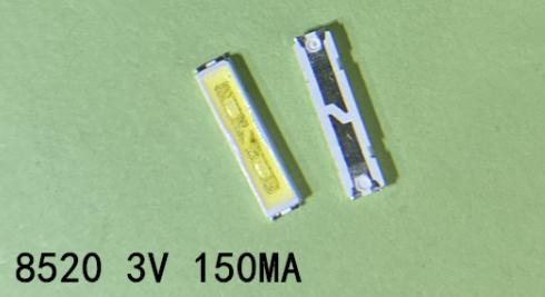 LED светодиод 8520 подсветки матриц  LG 3V 150Ma