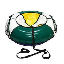 Тюбинг надувные санкиватрушка d120 см серия Стандарт Three Colors для детей и взрослых