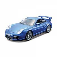 Авто-конструктор 1:32 1:43 Bburago PORSCHE 911 GT2 голубой g18-45125