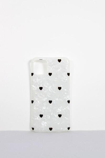 Чехлы для iPhone FAMO Чехол для iPhone X-XS Маленькие Сердечки One size (Hol-17)
