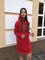 Женское платье худи красное DNK MAFIA - Elven, фото 1