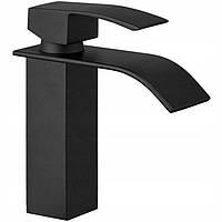 Кран змішувач для раковини умивальника REA BLACK FALCON 18