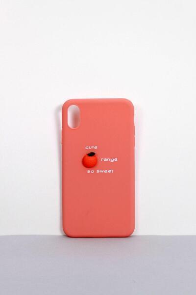 Чехлы для iPhone FAMO Чехол для iPhone XR Фрукты розовый One size (Hol-9)