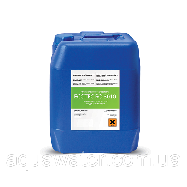 Антискалант-диспергент ECOTEC RO 3010 10 КГ