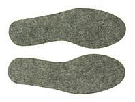 Стельки вкладные войлок Размеры: от 36 до 46.