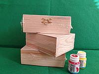 Шкатулка, деревянная, без замка,13х5х9см, ROSA TALENT