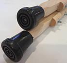 Костыли подмышечные деревянные детские, 2 шт./ ТМП Групп, фото 6