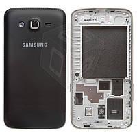 Корпус для Samsung Grand 2 G7102, черный, оригинал