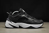"Мужские Кроссовки Nike M2K Tekno ""Black White"" - ""Черные Белые"" (Реплика ААА+), фото 1"