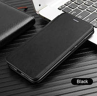 Чехол-книжка Level для Huawei Nova 5T Black (хуавей нова 5т)