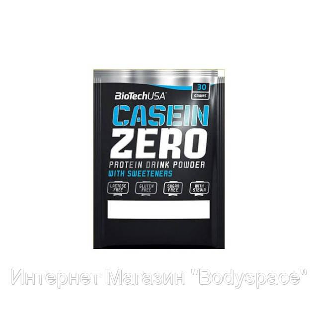 Biotech USA, Протеин казеин Casein Zero, 30 грамм