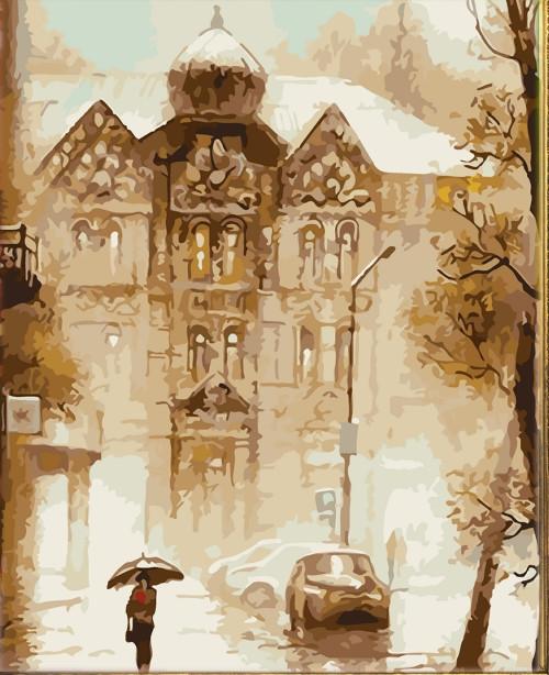 Картина по номерам Dreamtoys «Поздняя осень» 40*50 см, 695