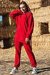Жіночий стильний спортивний костюм з капюшоном: худі і штани (в кольорах), фото 4