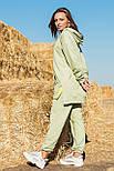 Жіночий стильний спортивний костюм з капюшоном: худі і штани (в кольорах), фото 3