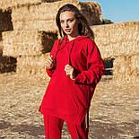 Жіночий стильний спортивний костюм з капюшоном: худі і штани (в кольорах), фото 5
