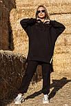Жіночий стильний спортивний костюм з капюшоном: худі і штани (в кольорах), фото 8