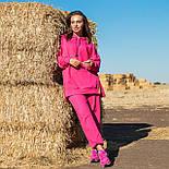 Жіночий стильний спортивний костюм з капюшоном: худі і штани (в кольорах), фото 6