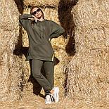 Жіночий стильний спортивний костюм з капюшоном: худі і штани (в кольорах), фото 9