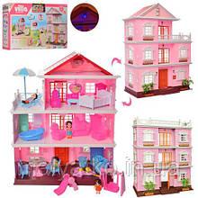 Будиночок для ляльок (типу LOL) арт. KB99-36-A (ПЛОСКИЙ ДАХ)