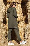 Жіночий стильний спортивний костюм з капюшоном: худі і штани (в кольорах), фото 10