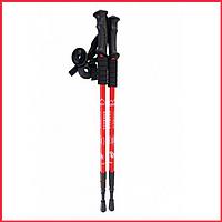 Телескопические палки NORD STICKS красные, телескопические.
