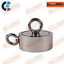 Поисковый неодимовый магнит PMR- D67 (180 кг), фото 2