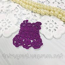 ВД Платье Фиолетовый 5.7х5.7 см