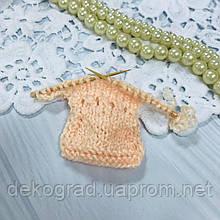 ВД Платье Персиковый 5.7х9 см
