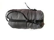 Спальный мешок DUSPO 160 Кокон Темно-серый, фото 4