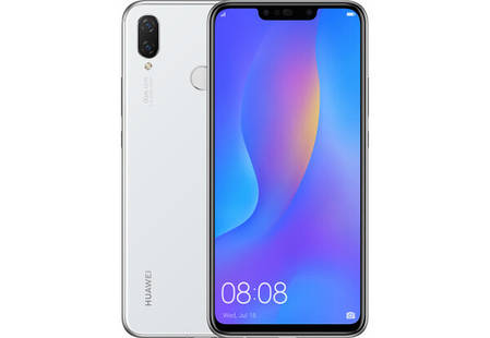 Смартфон Huawei P Smart Plus 4/64 GB White Stock А-, фото 2