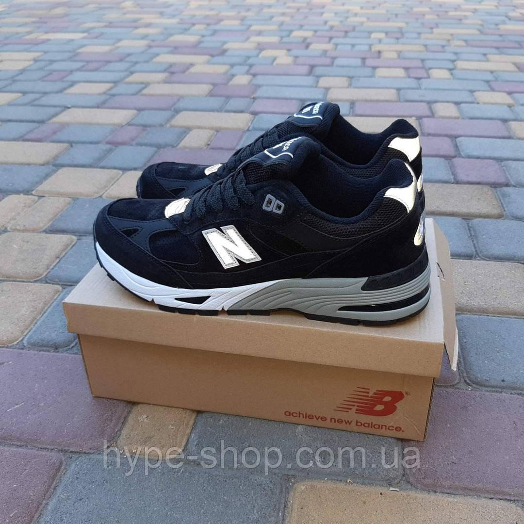 Мужские кроссовки New Balance 991 реплика