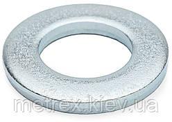 Шайба плоская М2.5х6 DIN 125 узкая оцинкованная