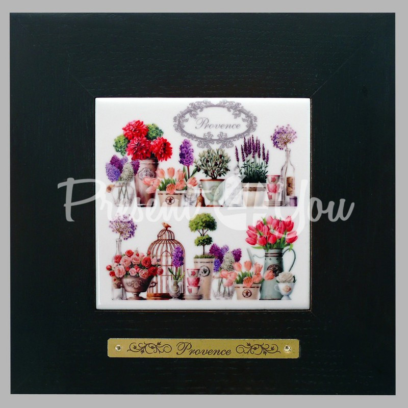 Панно настенное «Прованс. Цветы», 10х10, 18х18 см.