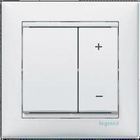 Диммер нажимной универсальний сенс.40-400VA Valena 770062 цвет белый