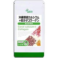 Японський кораловий кальцій і низькомолекулярний колаген (3-6 місяців) Японія, фото 1