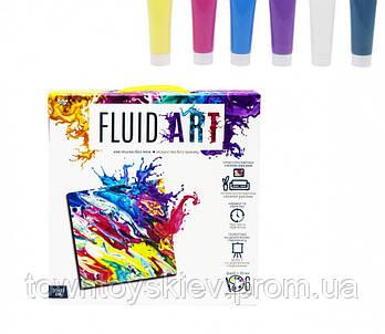 """Набор креативного творчества """"Fluid ART"""" FA-01-01-2-3-4-5, 5 видов ( FA-01-04)"""