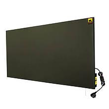Теплова кемична панель, настінний керамічний обігрівач з програматором х750, графіт