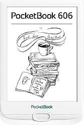 Електронна книга PocketBook 606 White (PB606-D-CIS)
