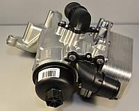 Корпус масляного охладителя и фильтра на Renault Trafic 2006-> 2.0dCi + 2.5dCi (146 л.с.) — 8200797762