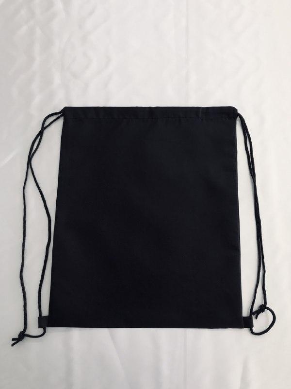 Рюкзак палаточная ткань, модель №1 , цвет черный