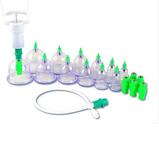 Массажные вакуумные банки 12 шт. с насосом-вакууматором Kangling Vacuum, фото 2