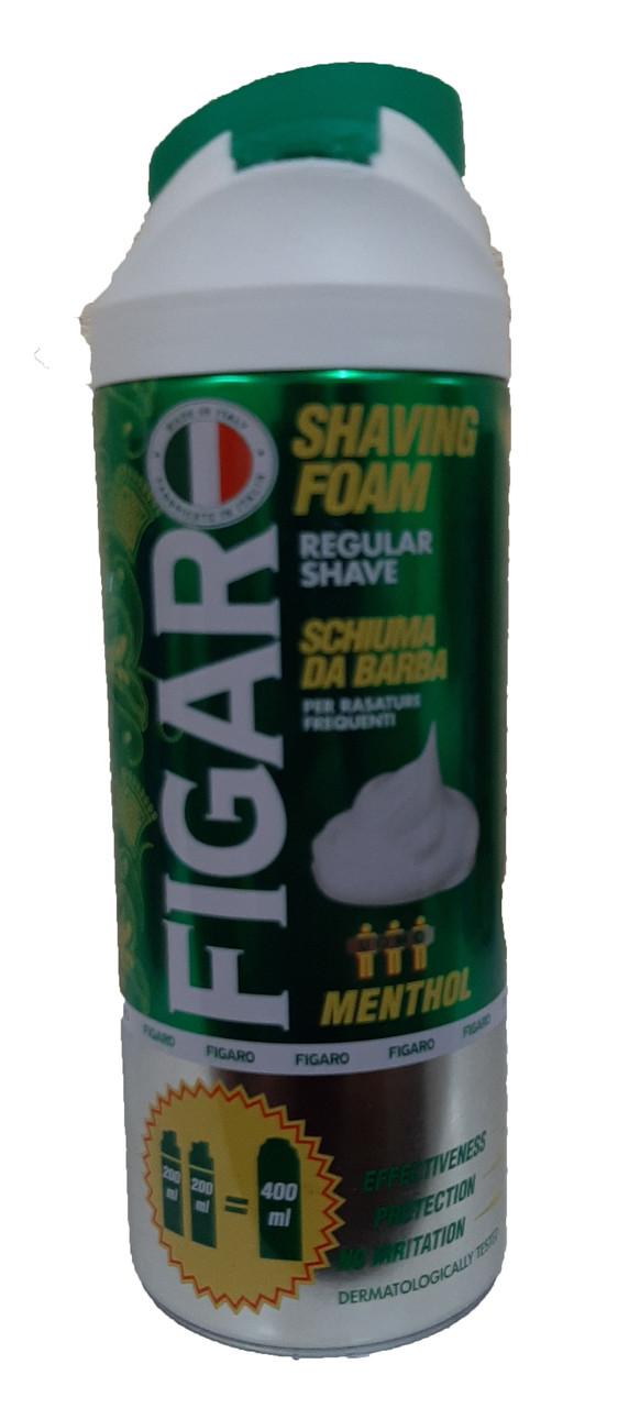 Піна FIGARO для гоління 400 мл Menthol