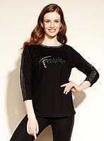 Zaps блуза Bernie черного цвета. Коллекция осень-зима 2020-2021, фото 1